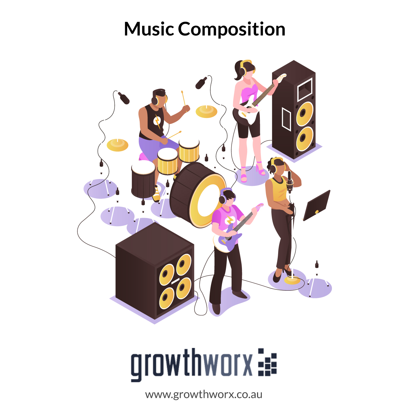 I will do music composition and production 1