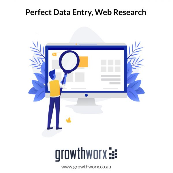 I will do perfect data entry, web research and copy paste 1