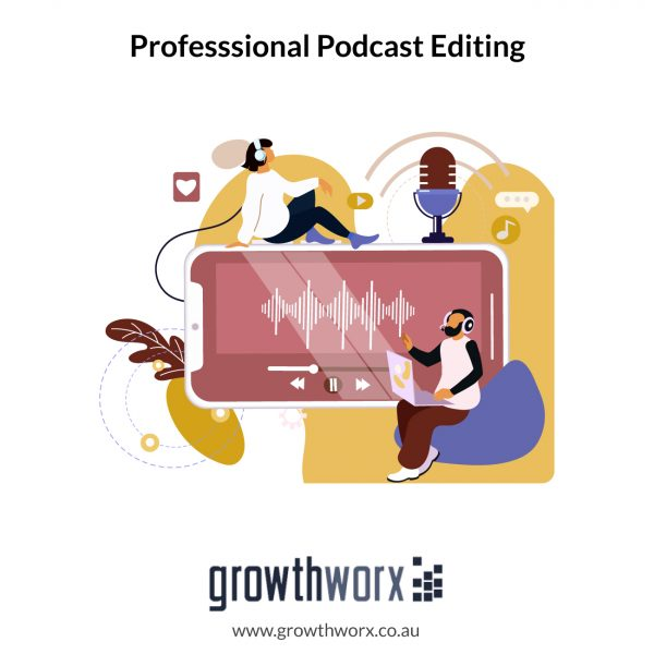 I will do professsional podcast editing 1