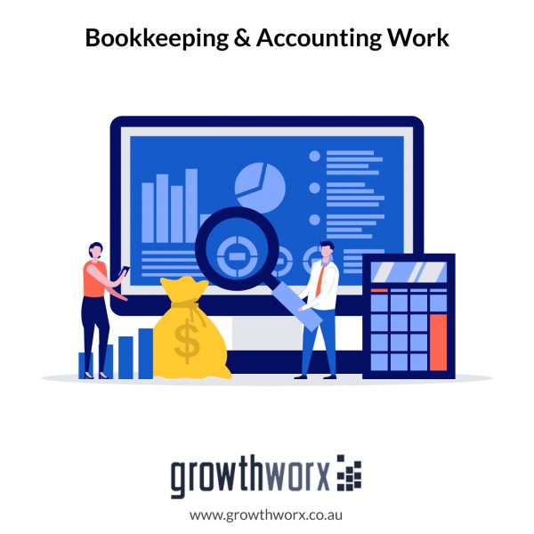 I will do your bookkeeping and accounting work 1