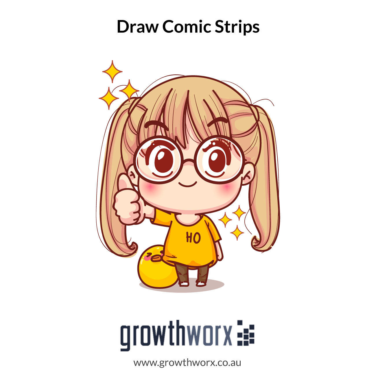I will draw comic strips for you 1