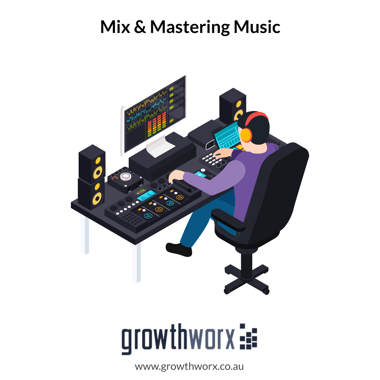 I will mix and master your music and make it sound awesome 1