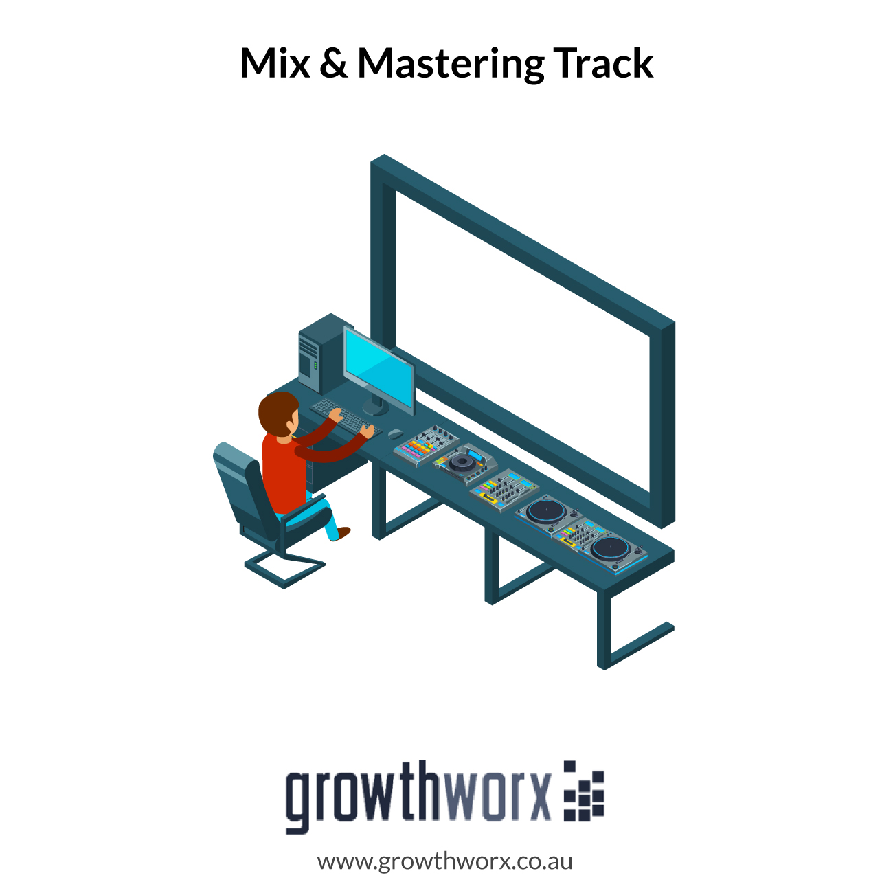 I will mix and master your track and make it sound professional 1