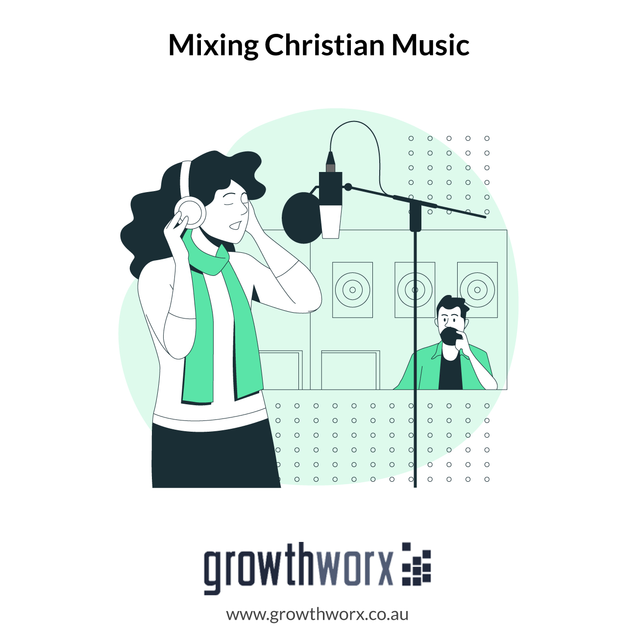 I will mix your christian music to sound like bethel 1