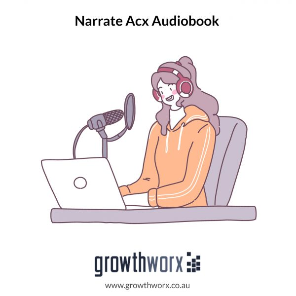 I will narrate your acx audiobook with american female voice 1