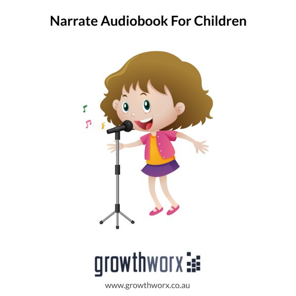 I will narrate your audiobook for children 1