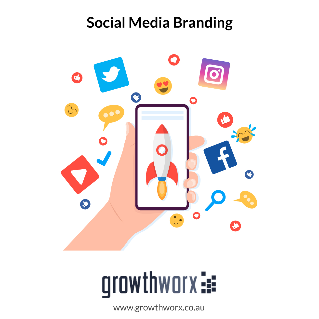 I will powerful social media branding account creation service 1