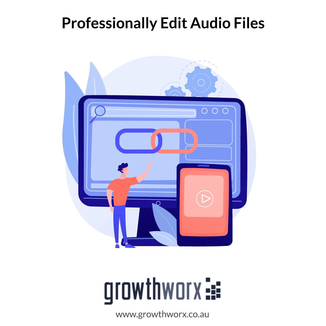 I will professionally edit your audio files 1