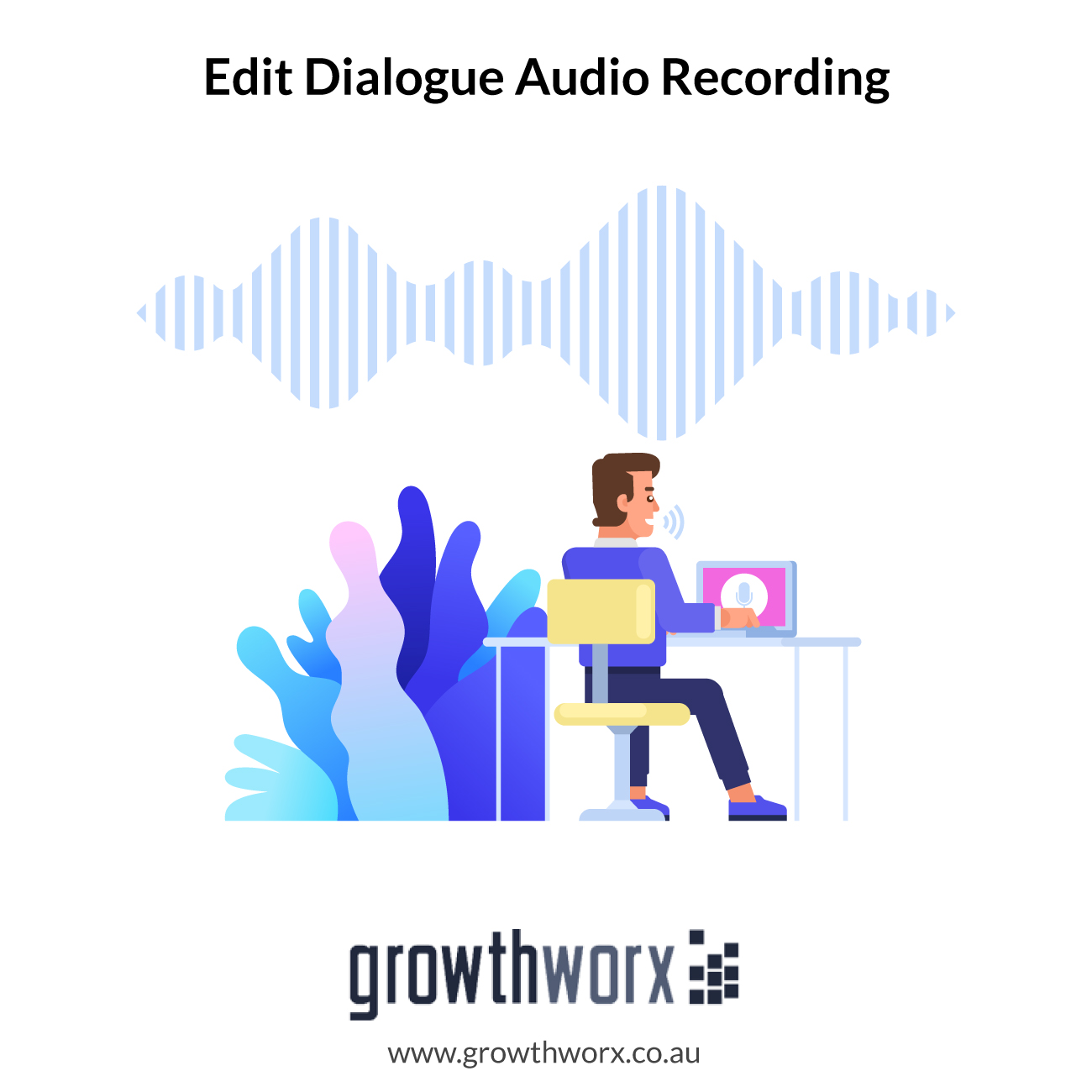 I will professionally edit your dialogue audio recording 1