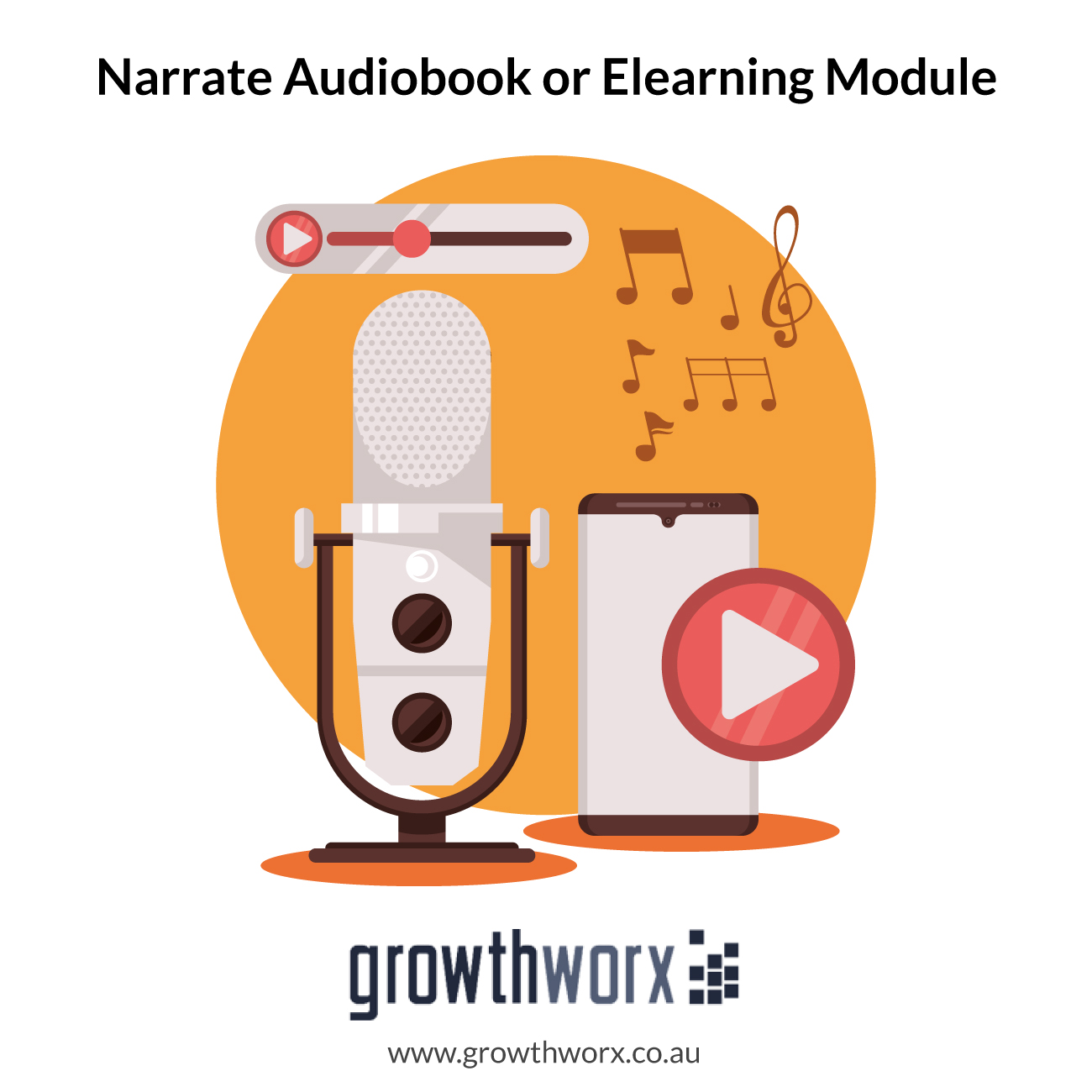 I will professionally narrate your audiobook or elearning module 1