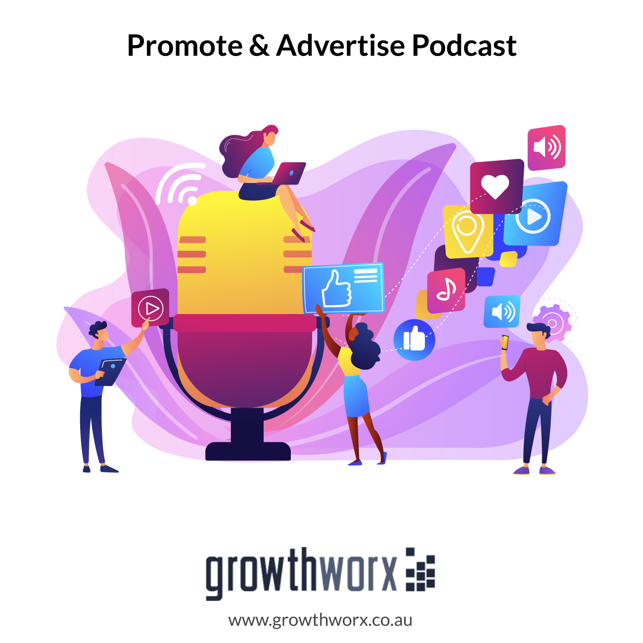 I will promote and advertise your podcast increase subscribers and marketing 1