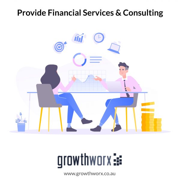I will provide financial services and consulting for your business 1