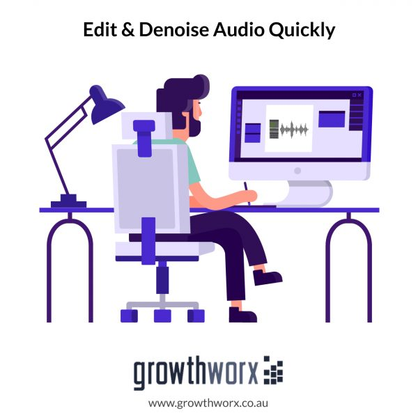 I will repair, enhance, edit and denoise your audio quickly 1