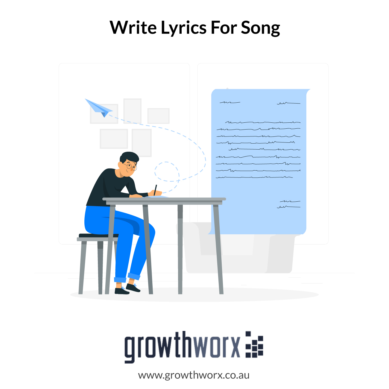 I will write lyrics for your song of any genre 1