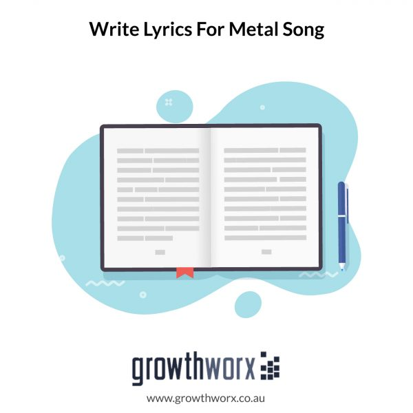 I will write professional lyrics for your metal song 1