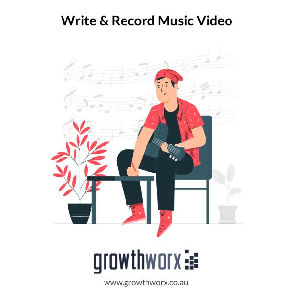 I will write, rap, produce and record a music video 1