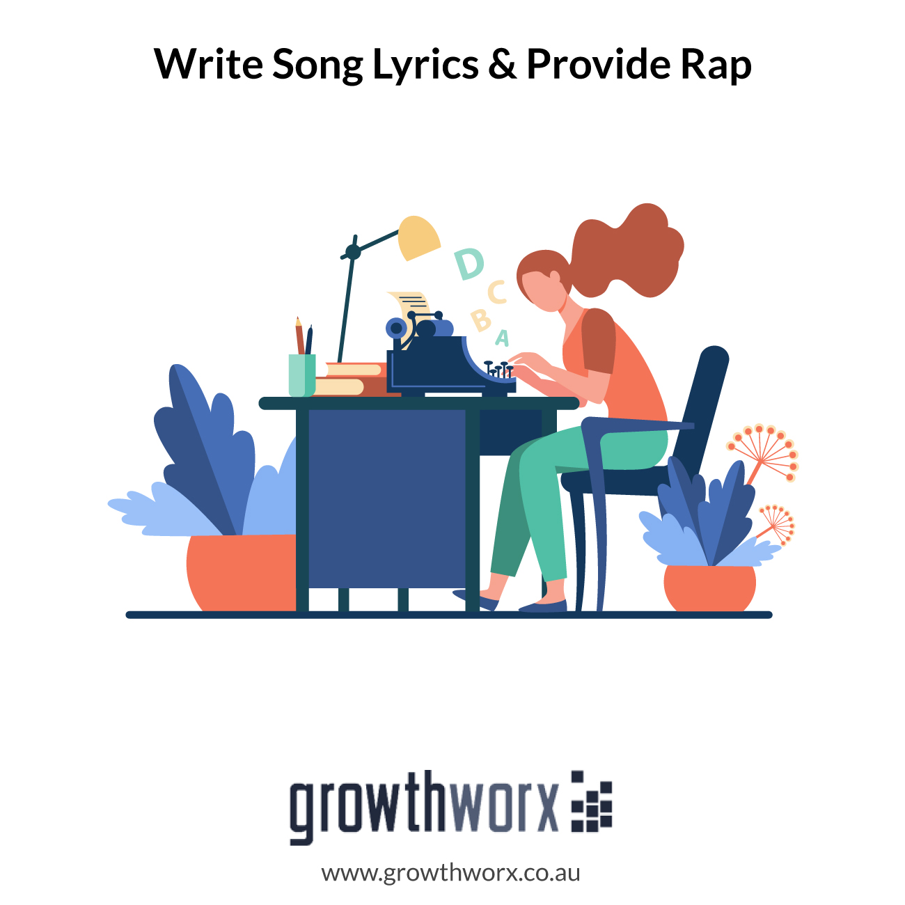 I will write song lyrics and provide rap or hip hop vocals 1