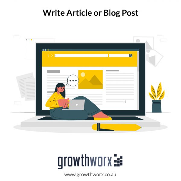 I will write you an article or blog post that is SEO friendly 1