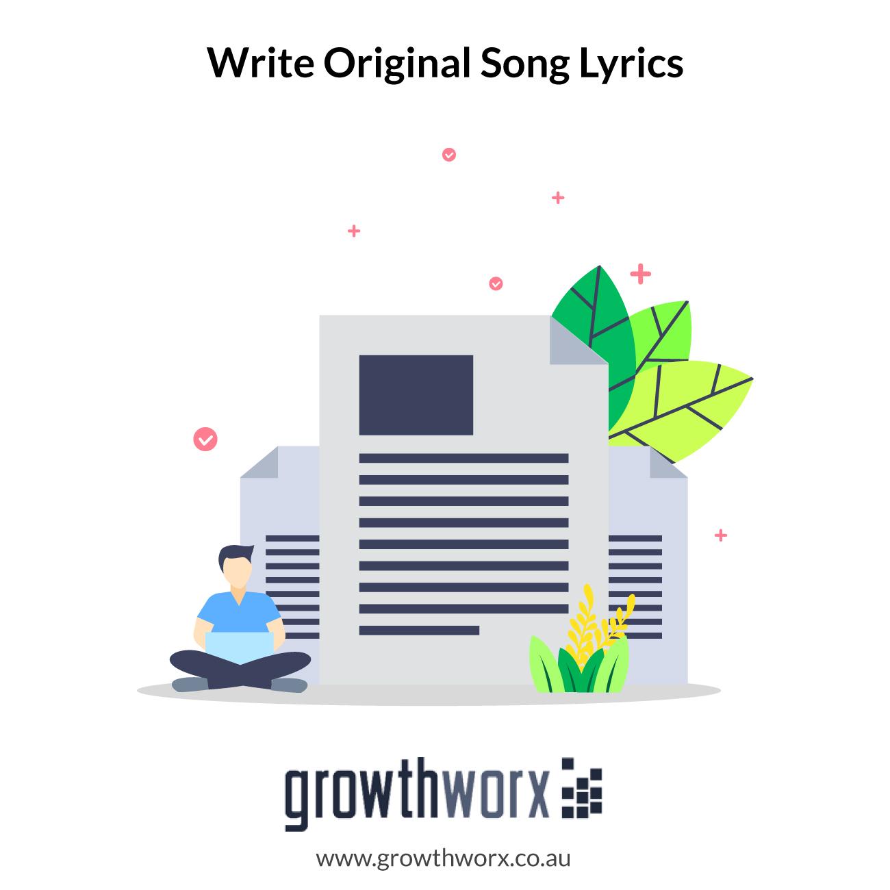 I will write you original song lyrics 1