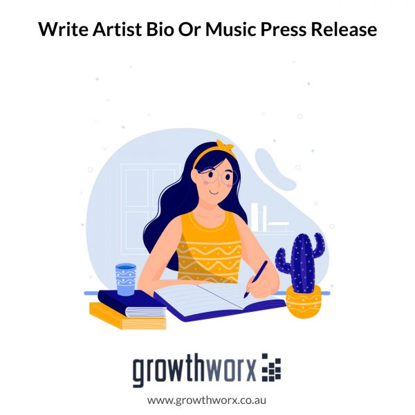 I will write your artist bio and, or music press release 1