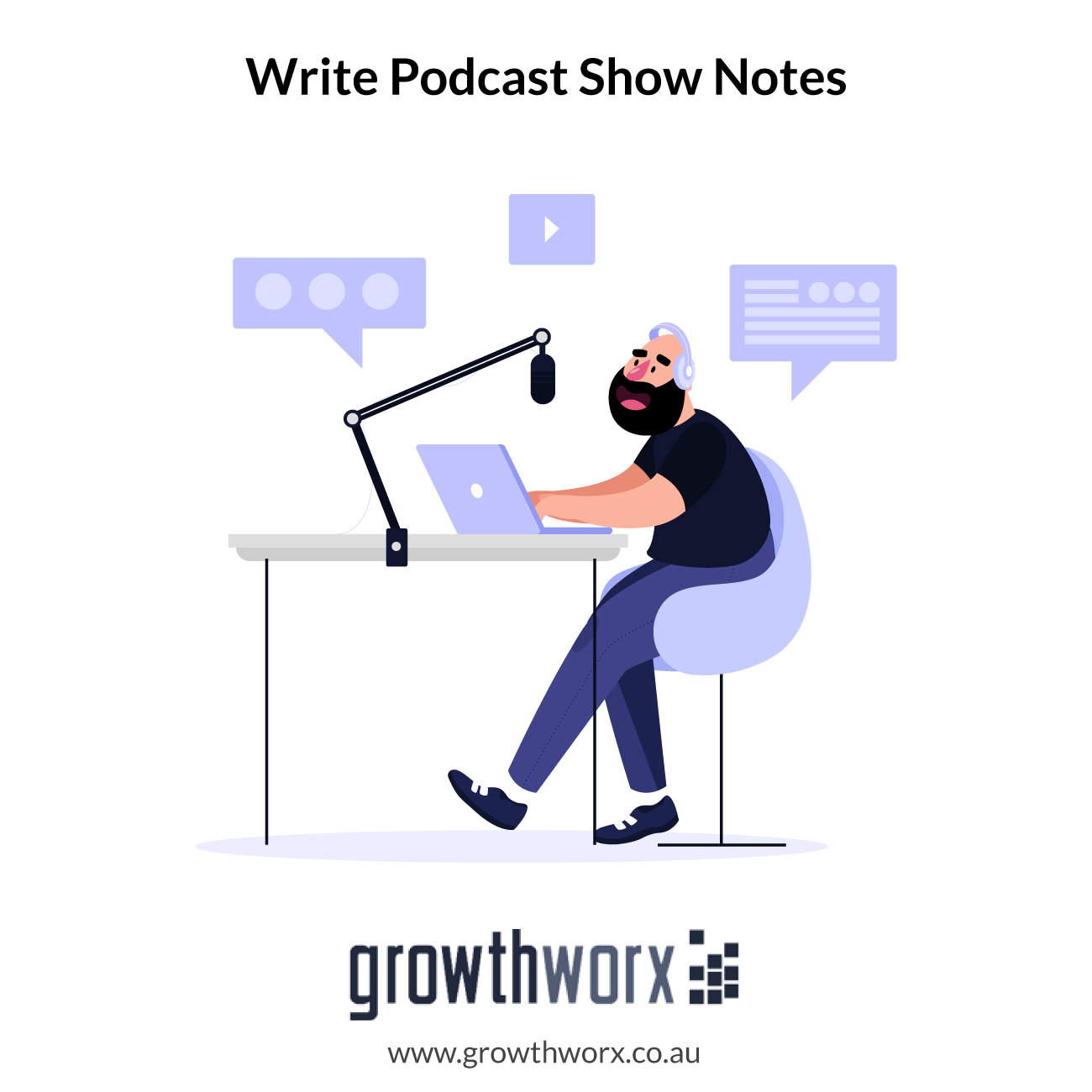 I will write your podcast show notes in 24 hours 1