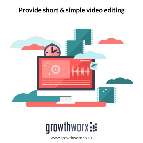 Provide short and simple video editing 1