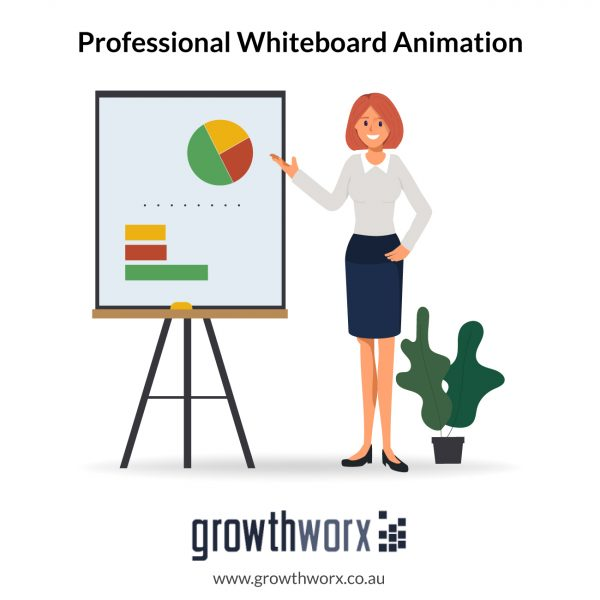 Stunning and professional whiteboard animation + HD, voice recording and voice sync for 120 words. 1