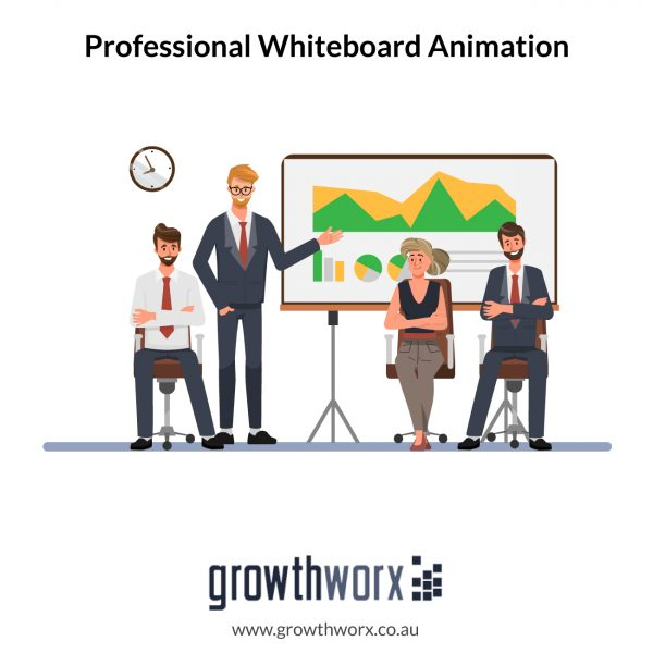 Stunning and professional whiteboard animation + HD, voice recording and voice sync for 250 words 1