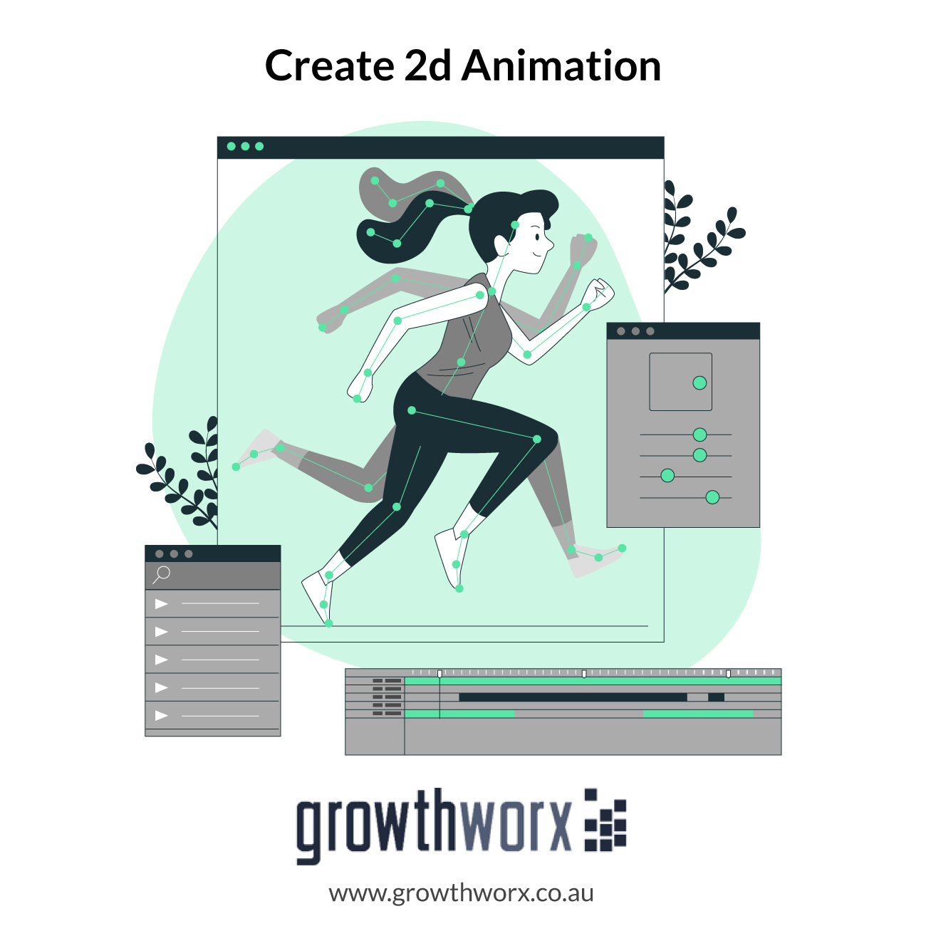 We will create 2d animation and nursery rhymes for kids 1