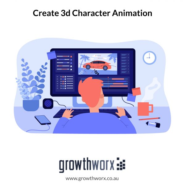 We will create 3d character animation for kids youtube channel 1