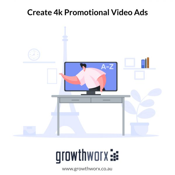We will create 4k promotional video ads and explainer videos 1