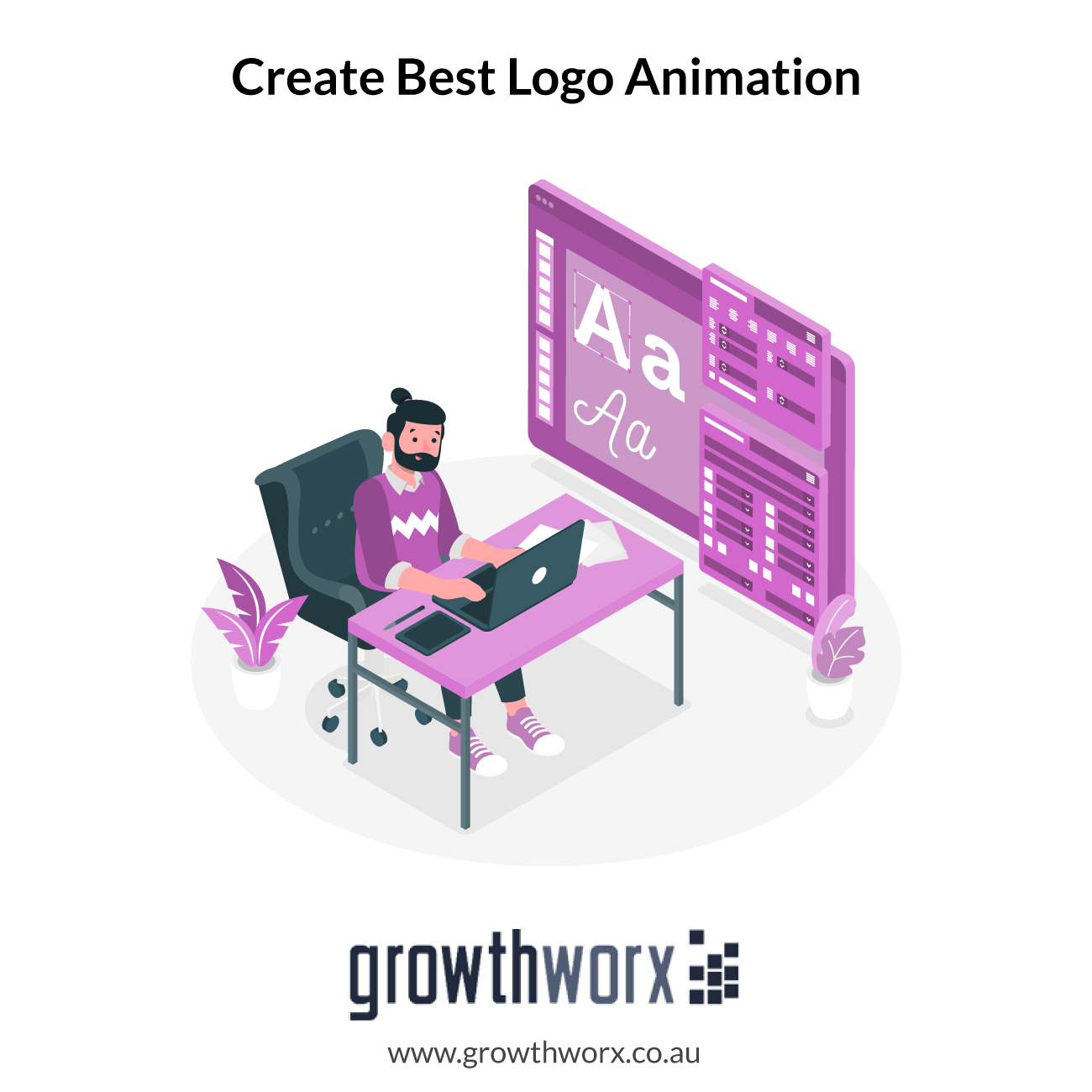 We will create best logo animation or youtube intro video 1