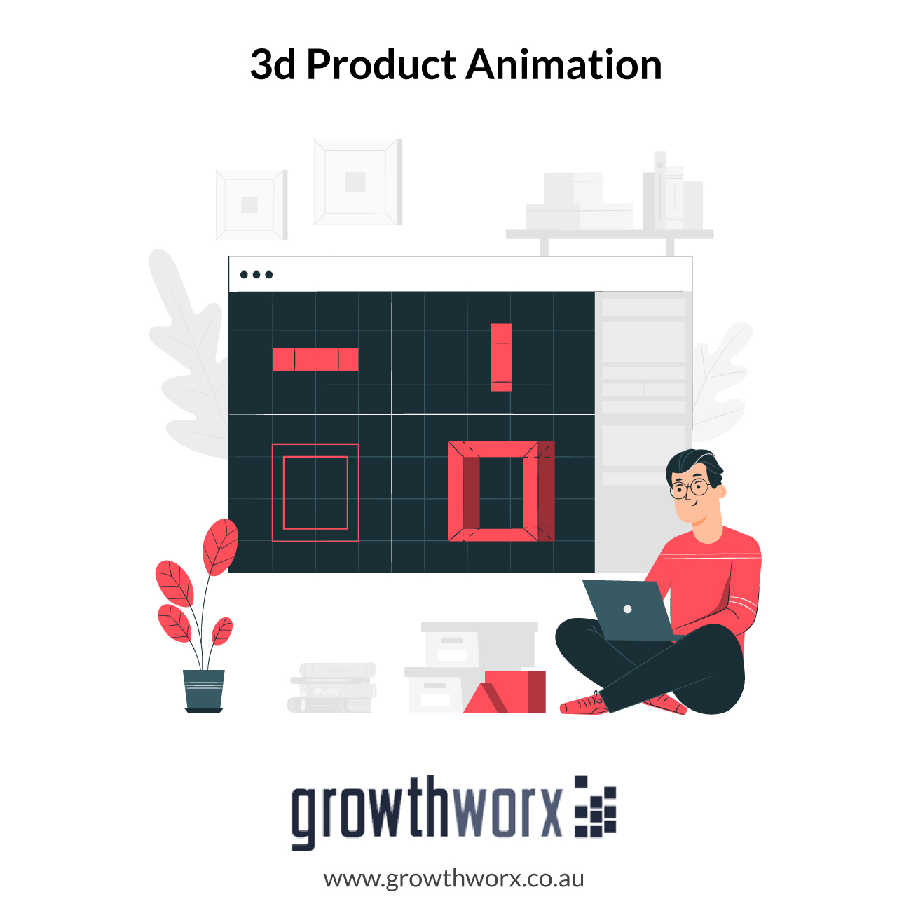 We will do 3d product animation 1