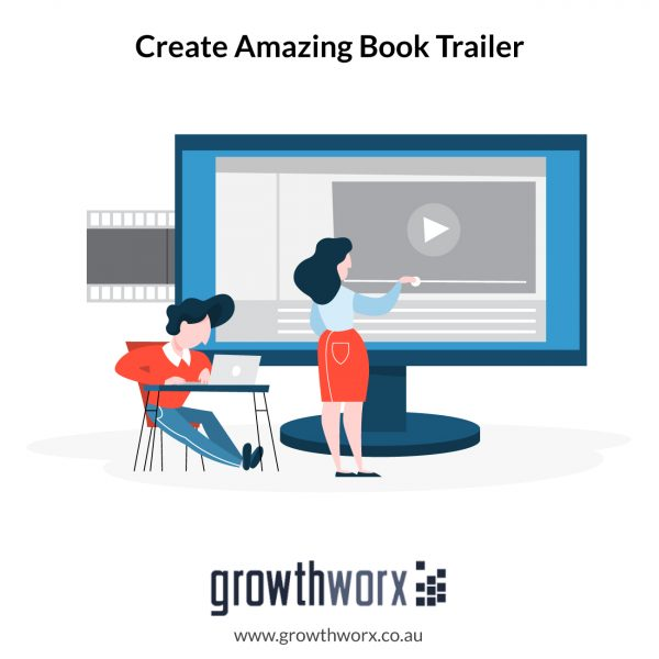 We will do an amazing book trailer 1
