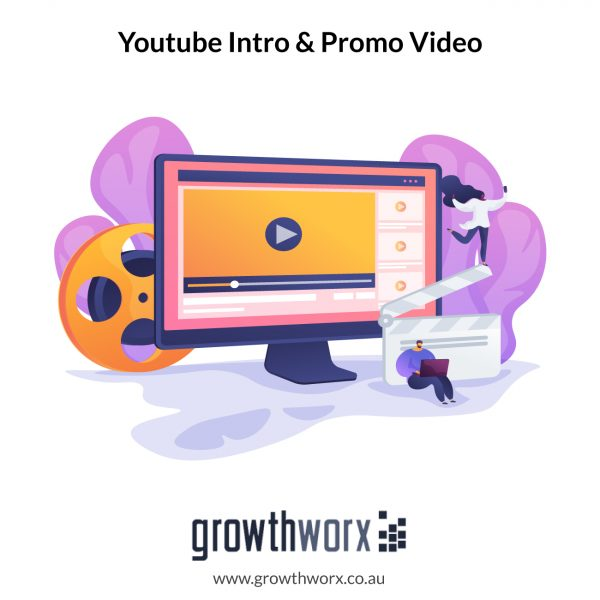 We will do youtube intro and promo video with logo animation 1