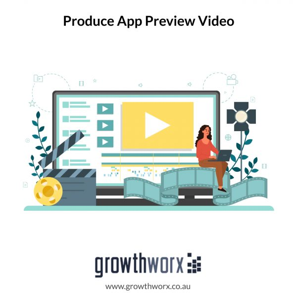 We will produce an app preview video for the app store 1
