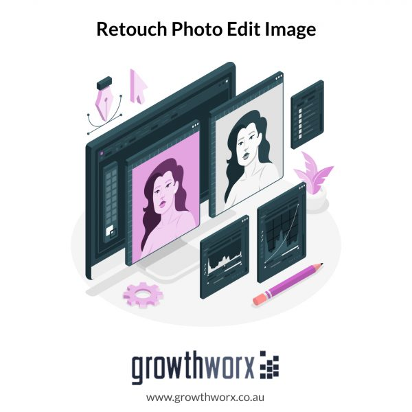 We will retouch photo edit image 1